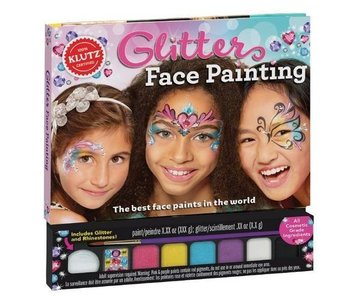 Klutz Book Glitter Face Paint