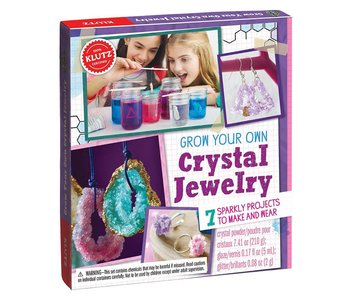 Klutz Book Grow Your Own Crystal Jewelry