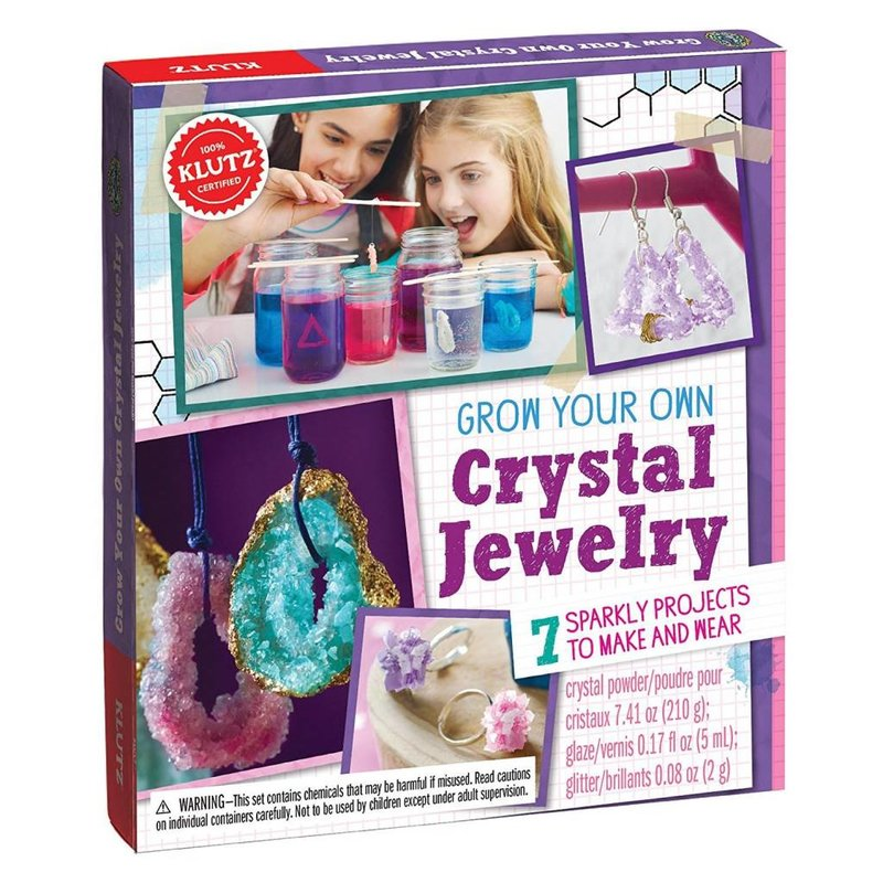 Klutz Klutz Book Grow Your Own Crystal Jewelry