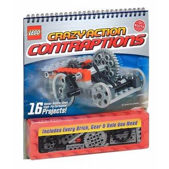 Klutz Book Lego Crazy Action Contraptions