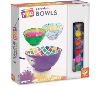 Mindware Craft Paint Your Own Porcelain Bowls