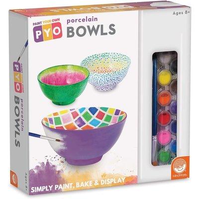 Mindware Mindware Craft Paint Your Own Porcelain Bowls