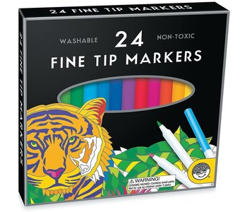 Mindware Markers Fine Tip 24's