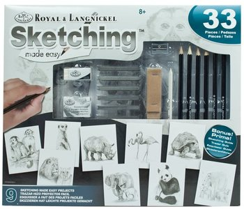 Sketching Made Easy Art Activity Set