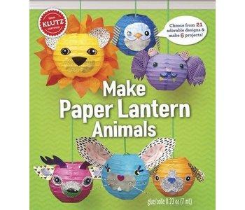 Klutz Book Make Paper Lantern Animals