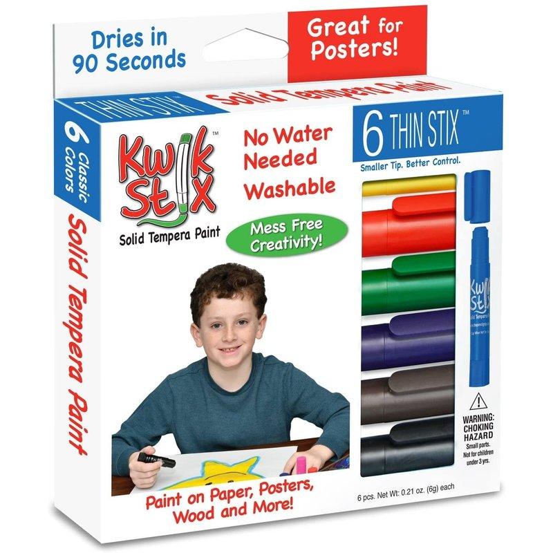 Kwik Stix Paint Stick Classic Thin 6pc