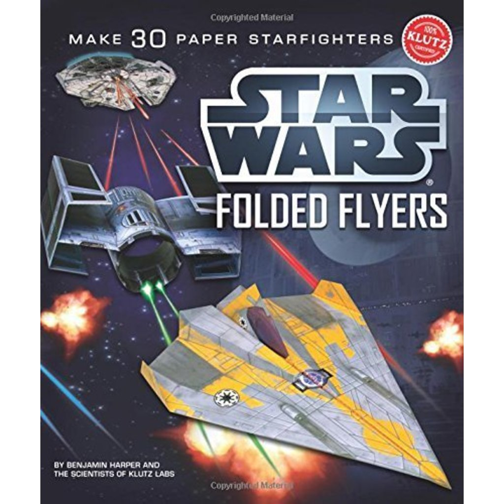 Klutz Klutz Book Star Wars Folded Flyers