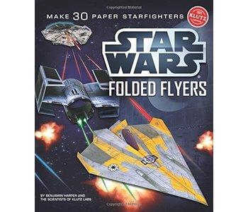 Klutz Book Star Wars Folded Flyers