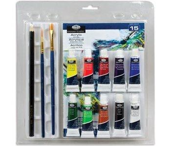 R&L Clamshell Acrylic Paint Set