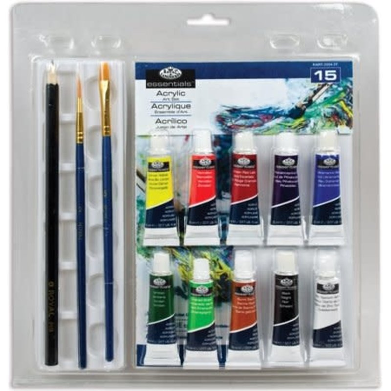 R&L Clamshell Acrylic Paint Set