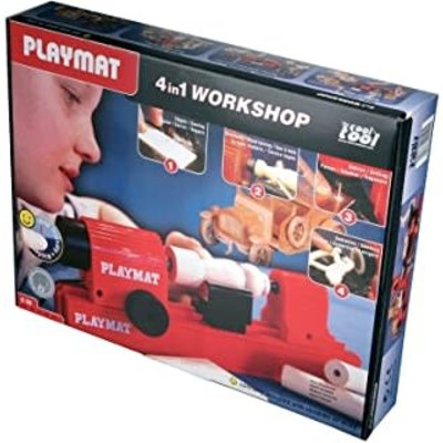 Playmais Cool Tool 4 in 1 Woodworking Set