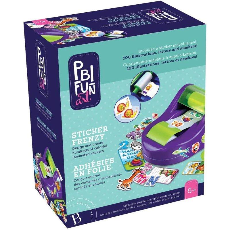 PBI Craft Sticker Frenzy