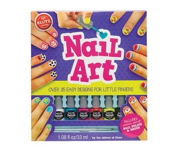Klutz Book Nail Art For Little Fingers