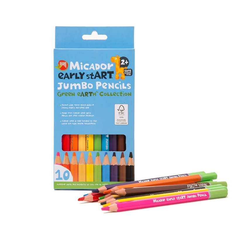 Micador Early Start Jumbo Pencil Crayons