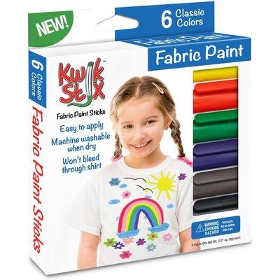 Kwik Stix Fabric Paint 6's