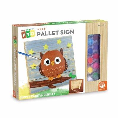 Mindware PYO Wood Pallet Sign