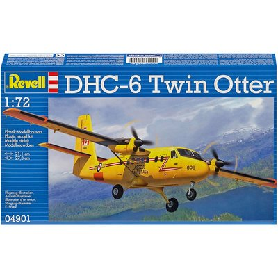 Revell Model 1/72 DHC-6 Twin Otter Plane