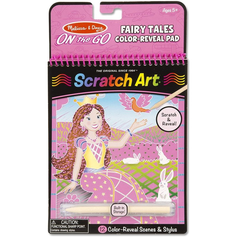 Melissa & Doug Melissa & Doug Scratch Art Fairy Tales