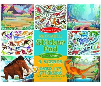 Melissa & Doug Reusable Sticker Pads: Prehistoric