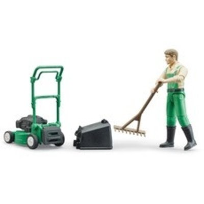 Bruder Bruder Lawnmower with Gardener