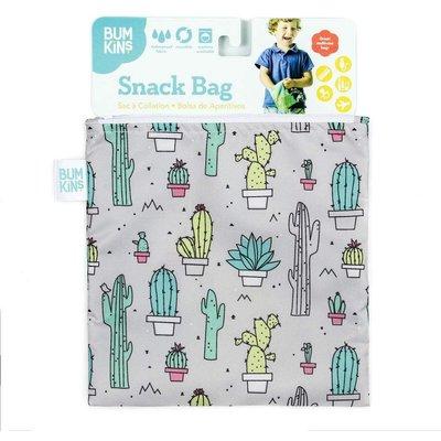 Bumkins Bumkins Large Reusable Snack Bags Cacti