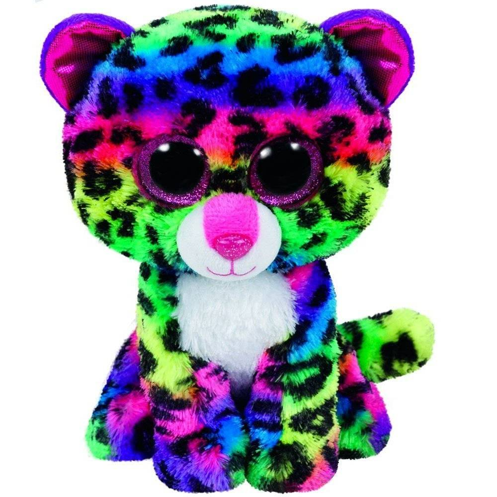 6d048bcd601 Ty Beanie Boo Large Dotty Leopard - Minds Alive! Toys Crafts Books