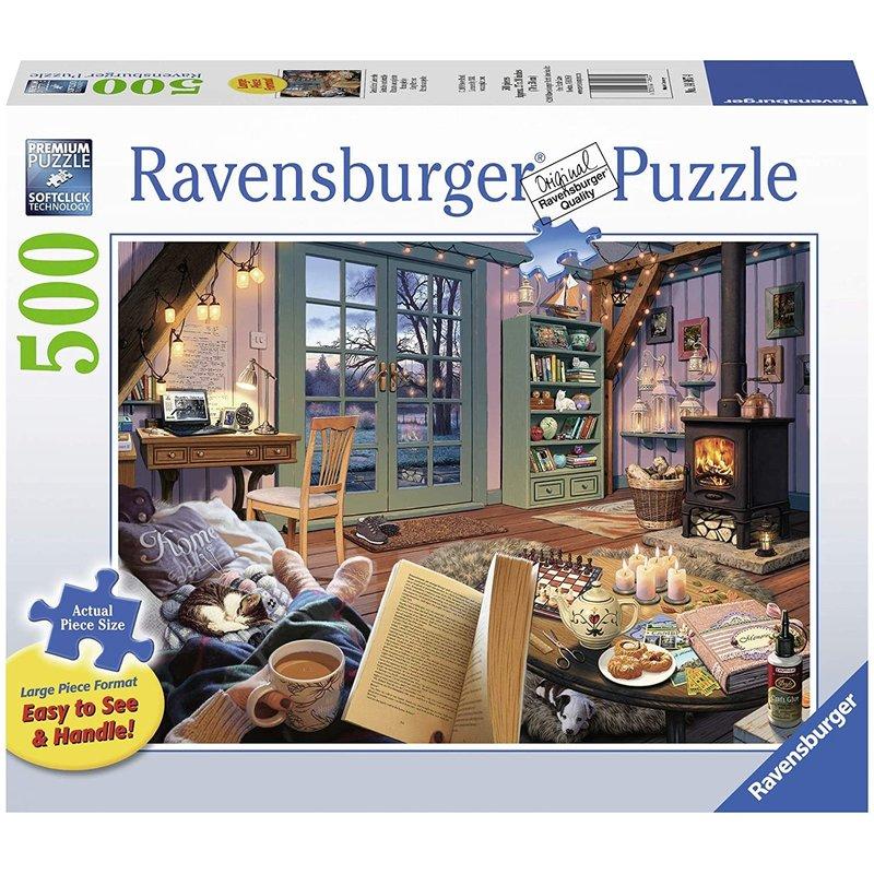 Ravensburger Ravensburger Puzzle 500pc Large Format Cozy Retreat