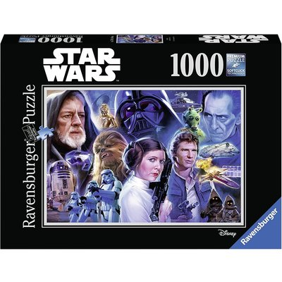Ravensburger Ravensburger Puzzle Star Wars 1000pc Collection 1