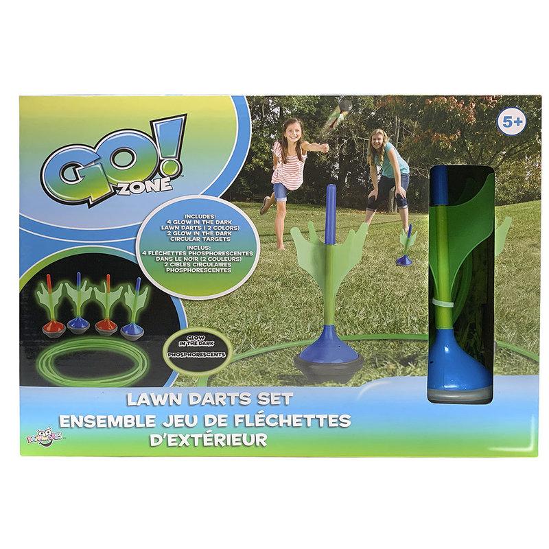 Go! Zone Glow in the Dark Lawn Darts