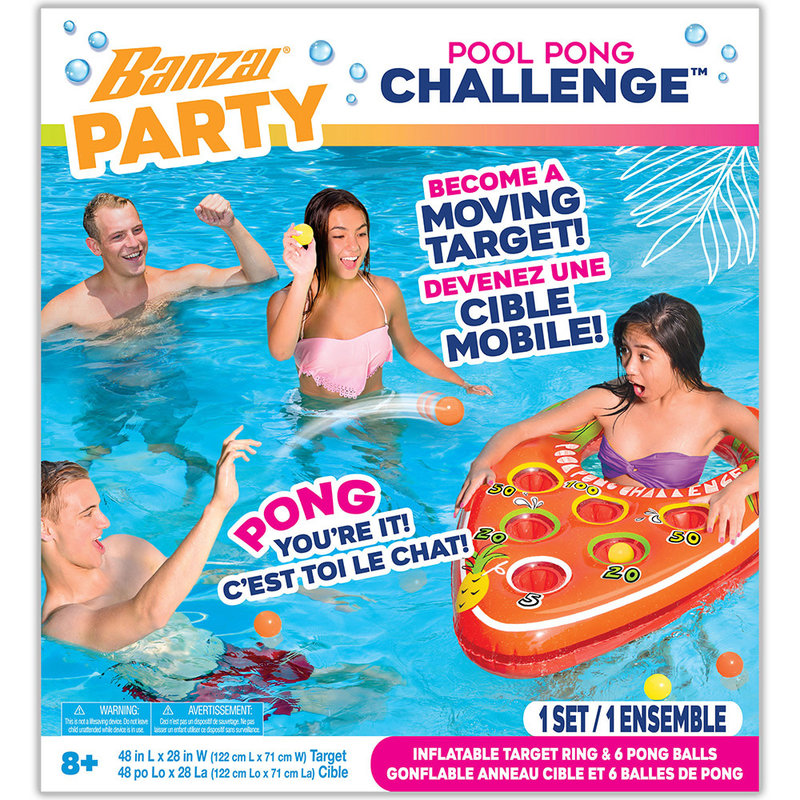 Banzai Pool Party Pong Pong Challenge