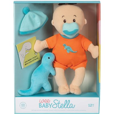 Baby Stella Doll Wee Baby Stella Doll Dino Set