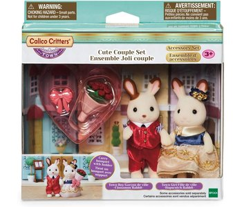 Calico Critters Town Cute Couple Set