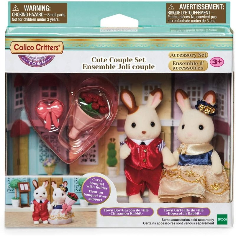 Calico Critters Calico Critters Town Cute Couple Set
