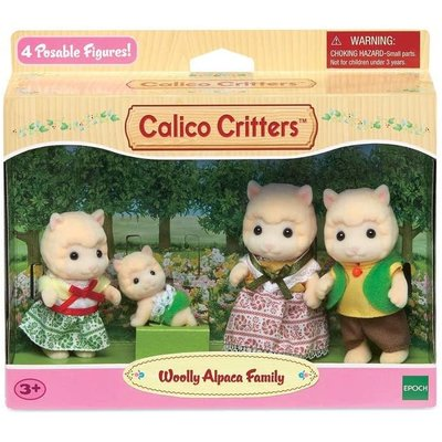Calico Critters Calico Critters Family Woolly Alpaca
