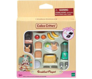 Calico Critters Room Breakfast Playset