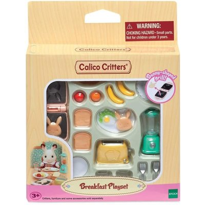 Calico Critters Calico Critters Room Breakfast Playset