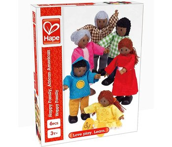Hape Doll Happy Family African American