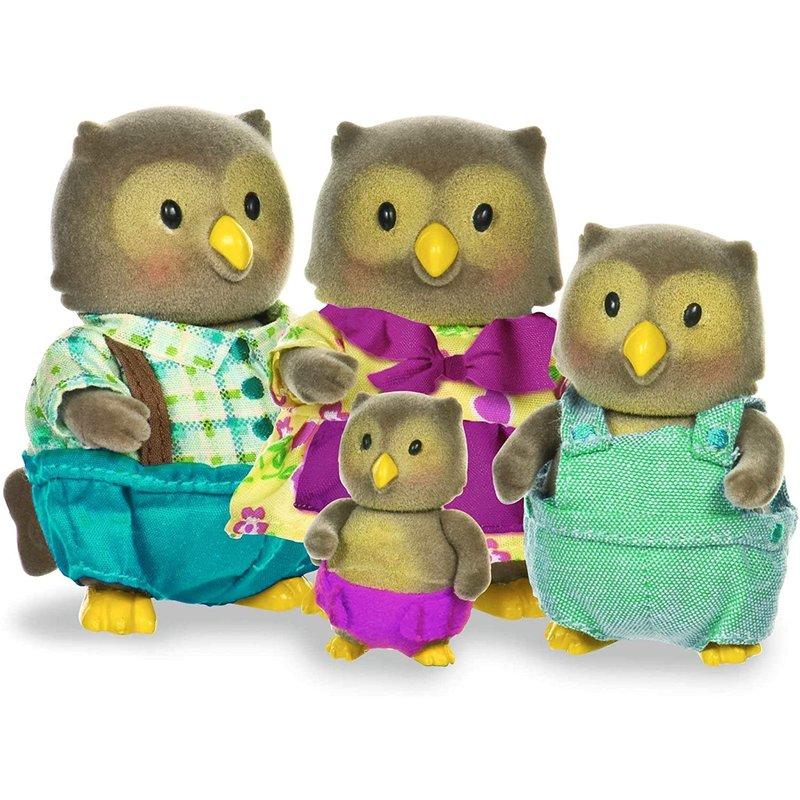 Li'l Woodzeez Family - Owl