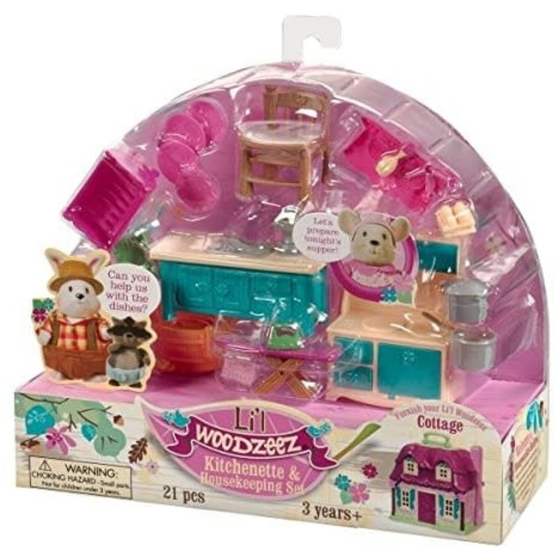 Li'l Woodzeez Room Kitchenette & Housekeeping