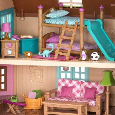 Li'l Woodzeez Room Bunkbeds Kids Room Set