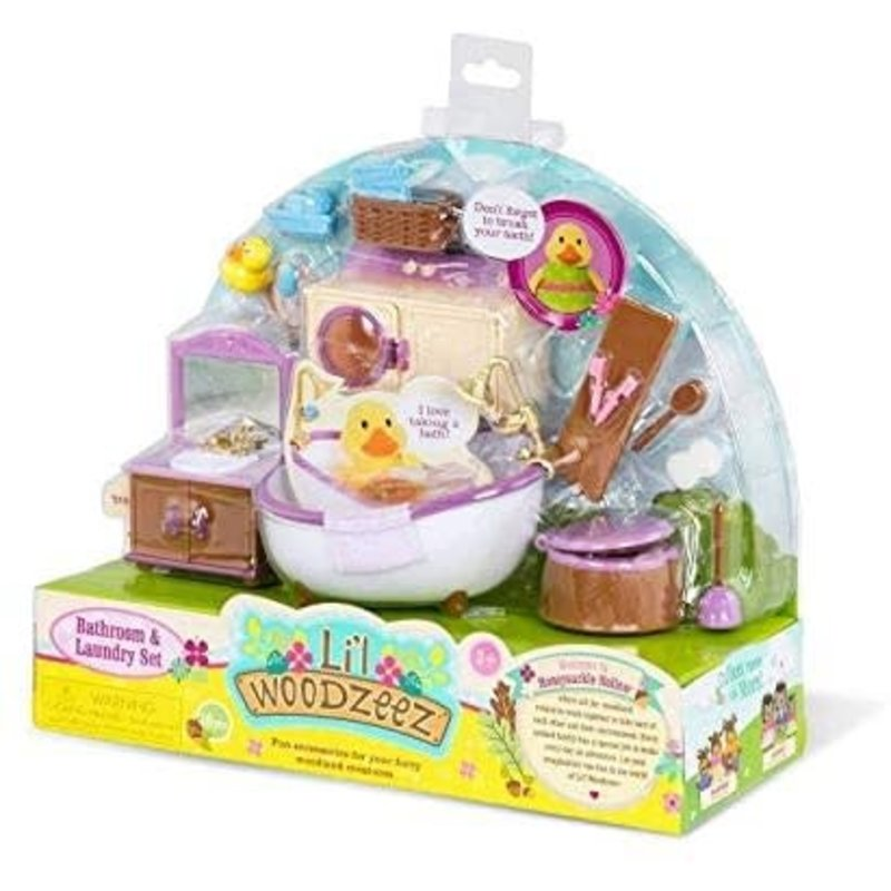 Li'l Woodzeez Room Bathroom & Laundry Set