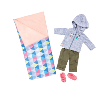 Our Generation Doll Deluxe Outfit: Cozy Camper