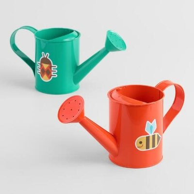Beetle & Bee Garden Metal Watering Cans