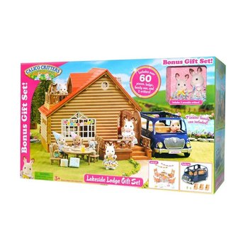Calico Critters Lakeside Lodge Gift Set