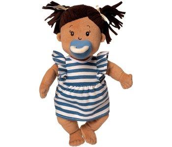 Baby Stella Doll Beige with Brown Hair