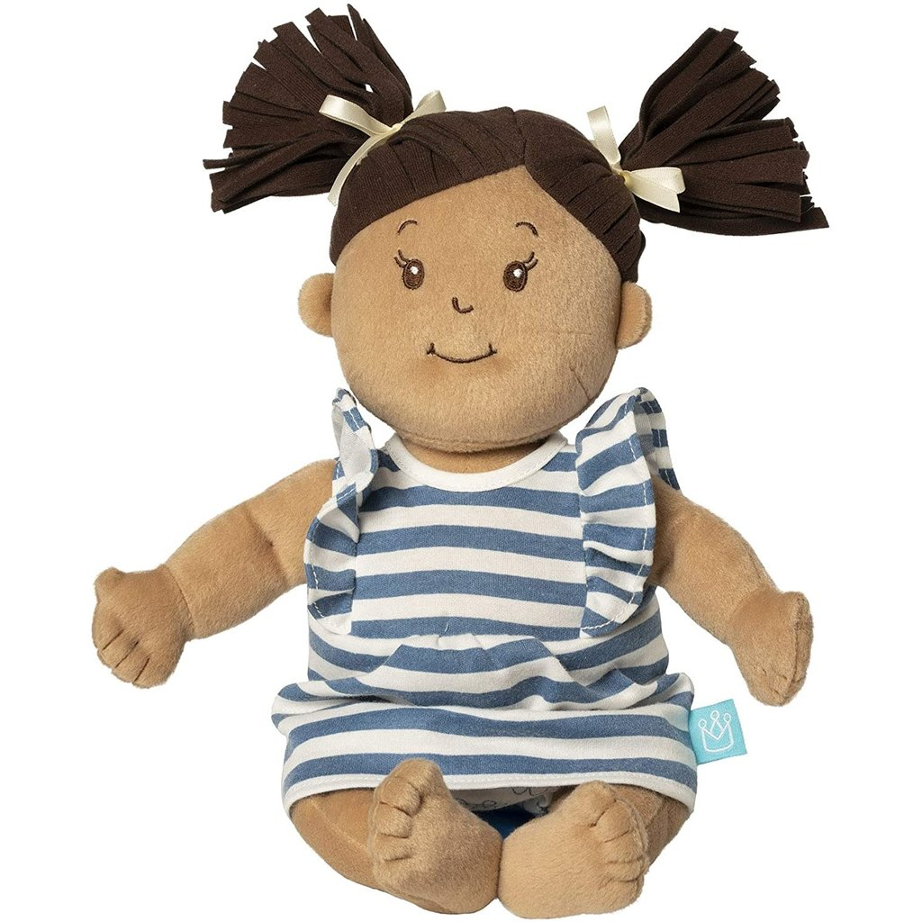 Baby Stella Doll Baby Stella Doll Beige with Brown Hair
