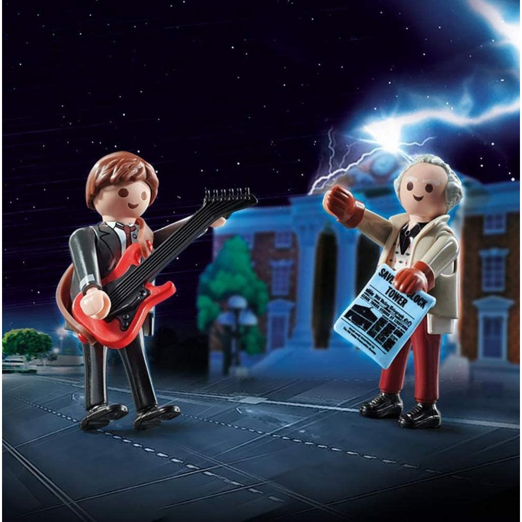 Playmobil Playmobil Back to the Future Duo Set Marty & Doc Brown