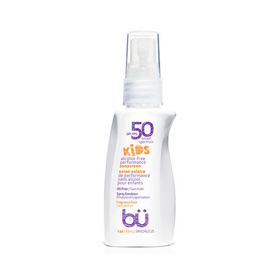 BU Sunscreen SPF30 KIDS Fragrance Free  Spray 30ml