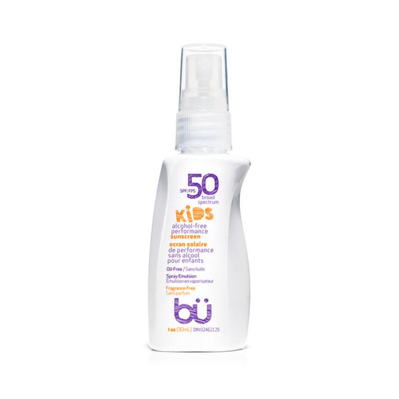 BU Sunscreen SPF30 KIDS Fragrance Free  Spray 30ml