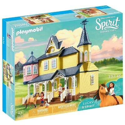 Playmobil Playmobil Spirit Lucky's Happy Home